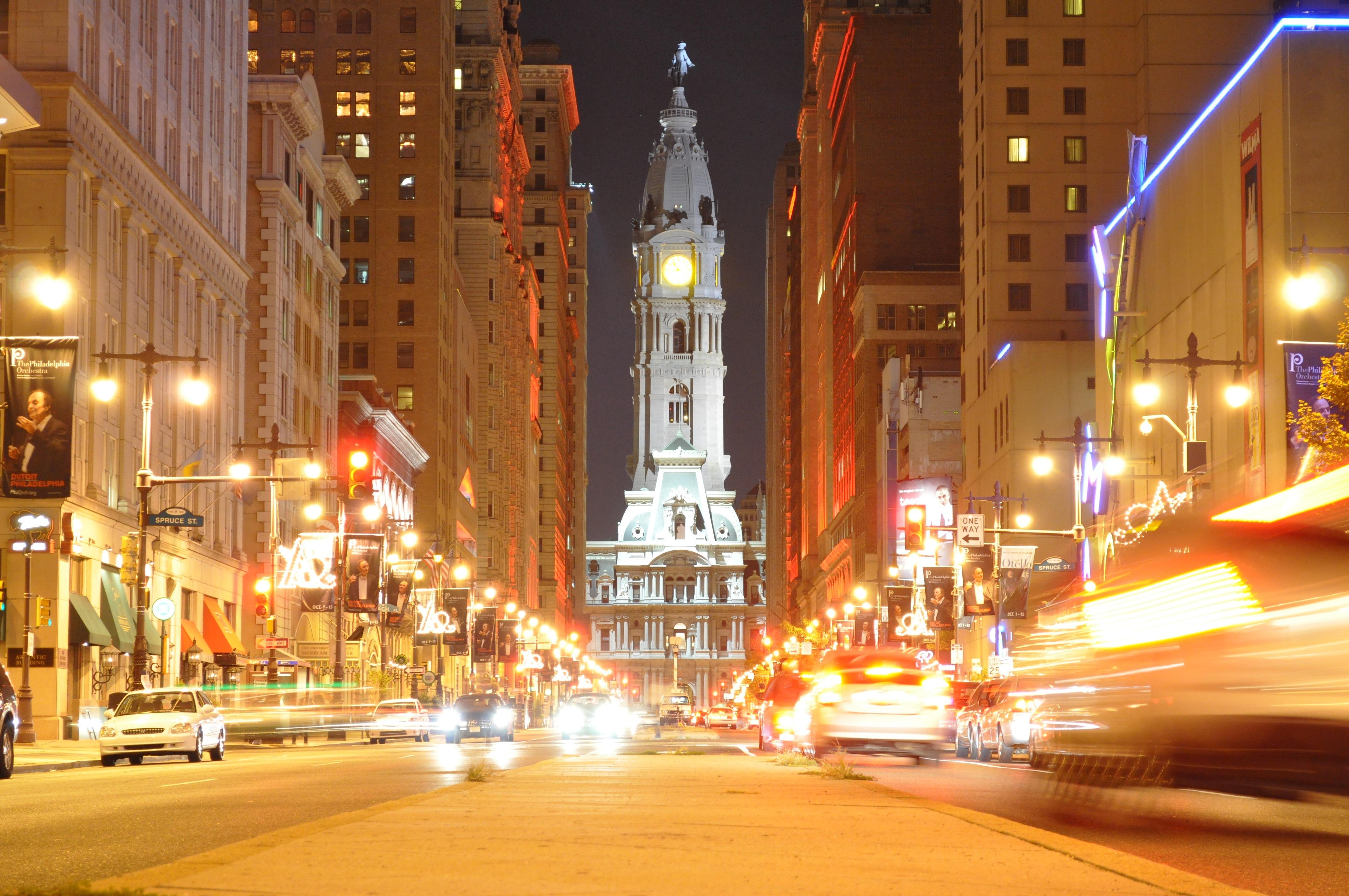broad street at night t