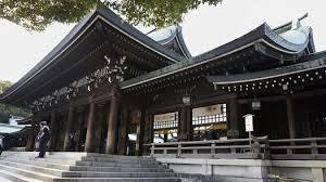 Il santuario di Meiji a Tokyo, in Giappone