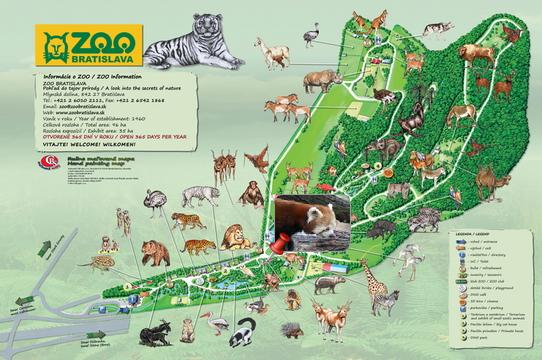 Quali sono orari e prezzi Bratislava Zoo