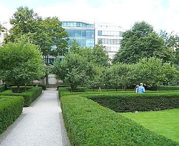Arrivare Giardino dei Francescani Praga