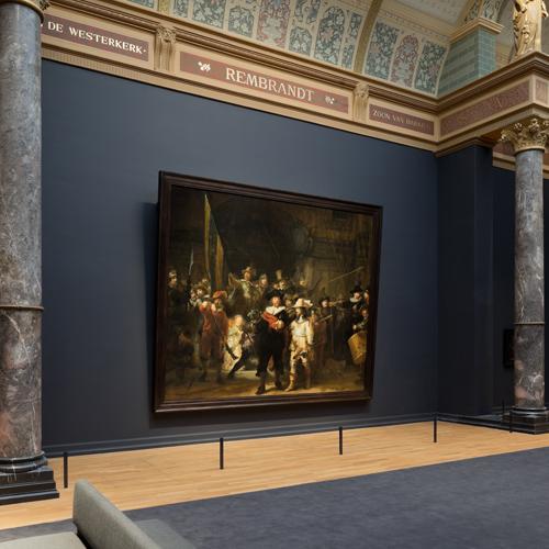 Arrivare Rijksmuseum Amsterdam