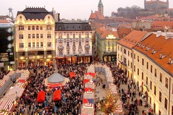 Qual è clima dicembre a Bratislava