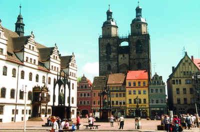 Come raggiungere cattedrale di Lutero a Wittenberg