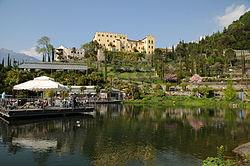 I Giardini di Castel Trauttmansdorff, come arrivare