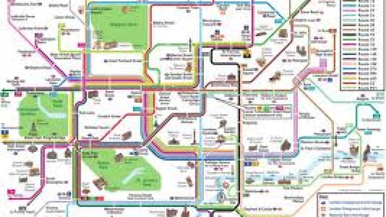 Cartina Parigi Con Monumenti E Metro.Quali Sono Fermate Metro Monumenti Londra Viaggiamo
