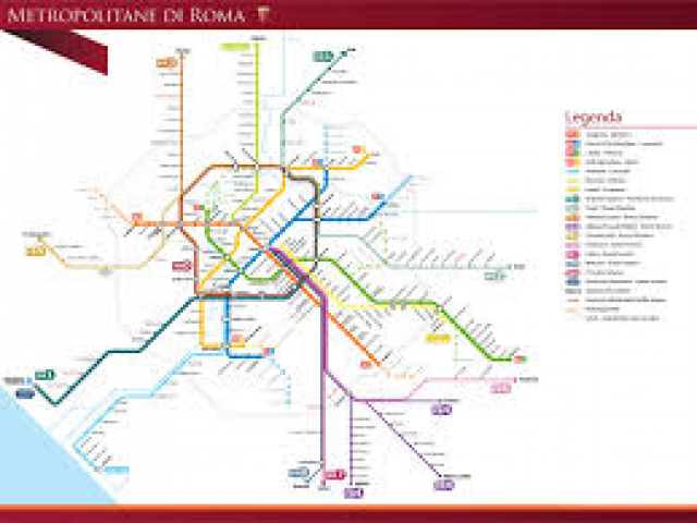 Cartina Metro Londra Con Monumenti.Quali Sono Fermate Metro Monumenti Roma Viaggiamo