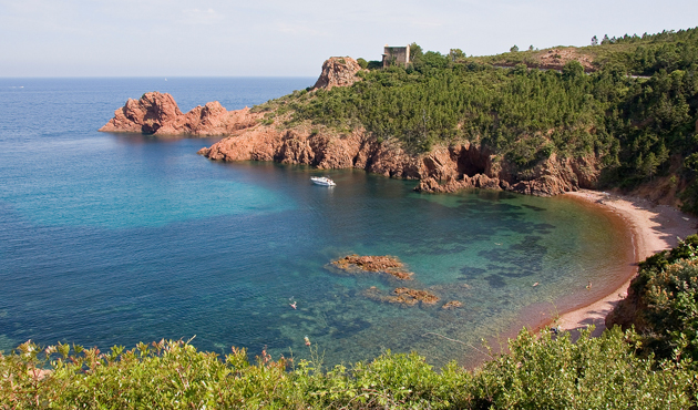 Tutte le spiagge naturista della Costa Azzurra