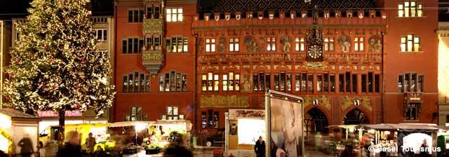 Date e orari mercatino di Natale a Basilea