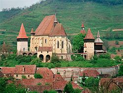 La Chiesa fortificata di Biertan in Romania