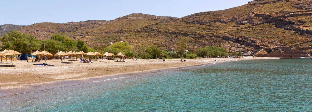 Le più belle spiagge di Kea
