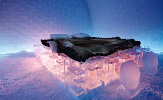 Come dormire in un hotel di ghiaccio in Lapponia