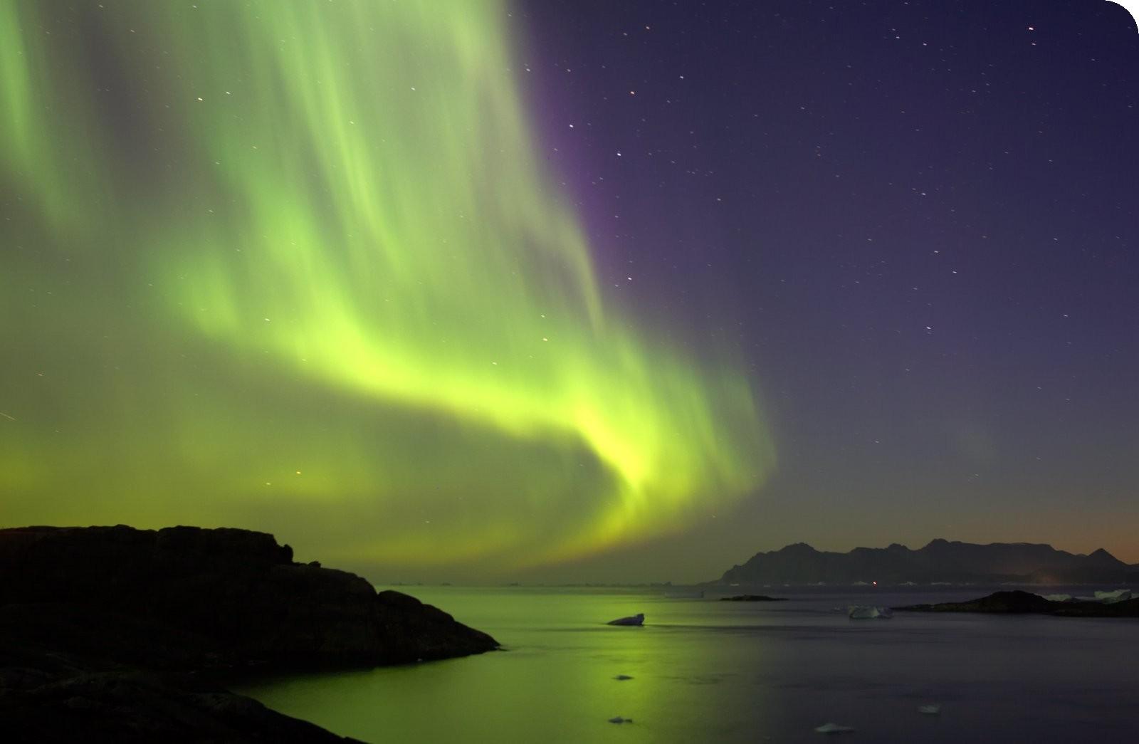 Come vedere le aurore boreali in Groenlandia