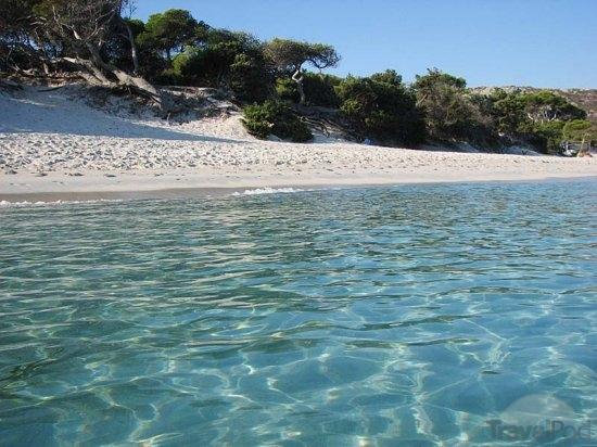 waters of plage de saleccia harburg