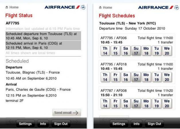 Fare prenotazione posto Air France