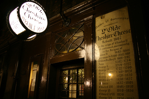Tour letterario pubs Londra