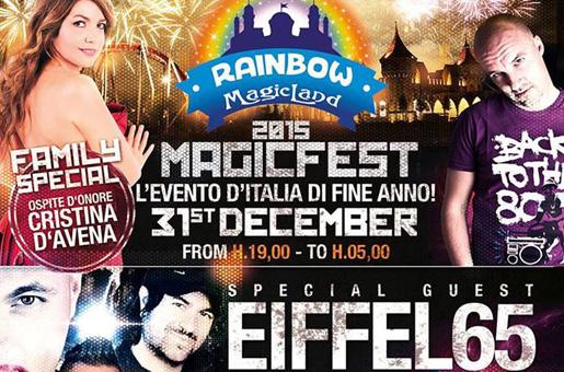 Capodanno a Rainborw Magicland, programma MagicFest