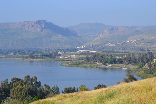 Il Mare della Galilea a dicembre