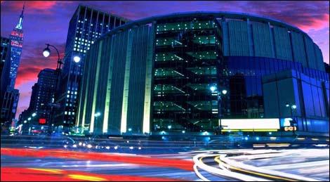 Tour Madison Square Garden New York