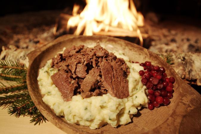 sirmakko restaurant reindeer stew original lappish food