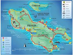 Itinerario Praslin alle Seychelles