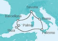 Itinerario Crociera di Capodanno Costa Fascinosa