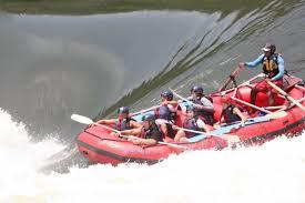 Come fare rafting cascate Vittoria