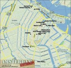 Cartina Coffee Amsterdam.Mappa Dei Coffee Shop Di Amsterdam Viaggiamo