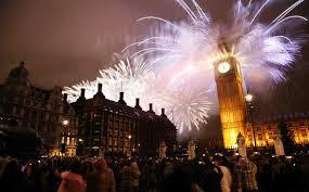Eventi Capodanno in piazza a Londra