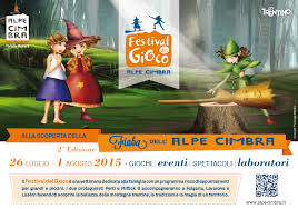 Date e programma Festival del gioco sulla neve sull'Alpe Cimbra