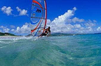 windsurfing saint lucia