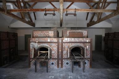 Visita al campo di concentramento di Dachau