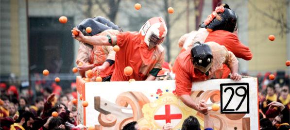 Programma del Carnevale storico di Ivrea 2015
