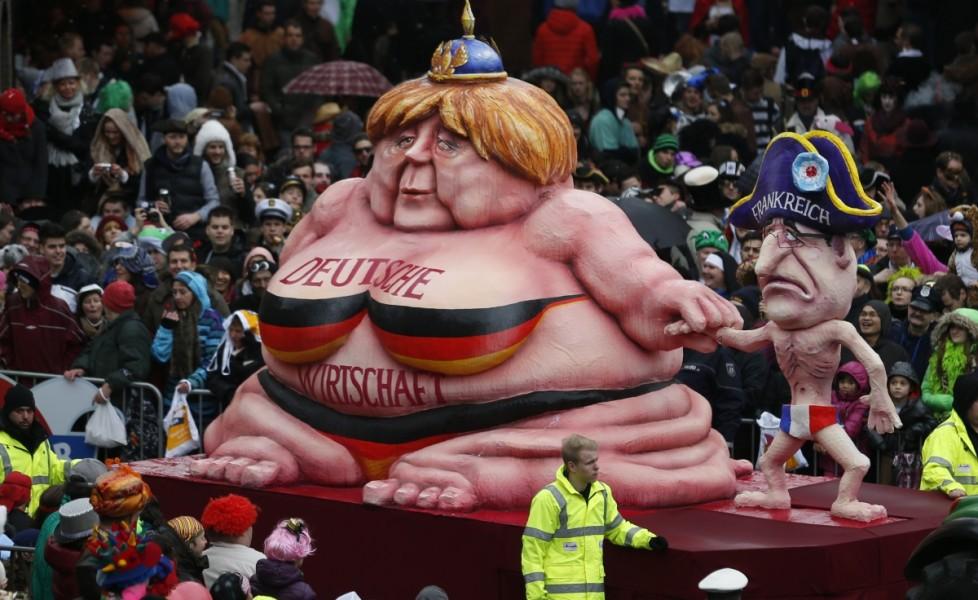 Date sfilate Carnevale di Dusseldorf 2015
