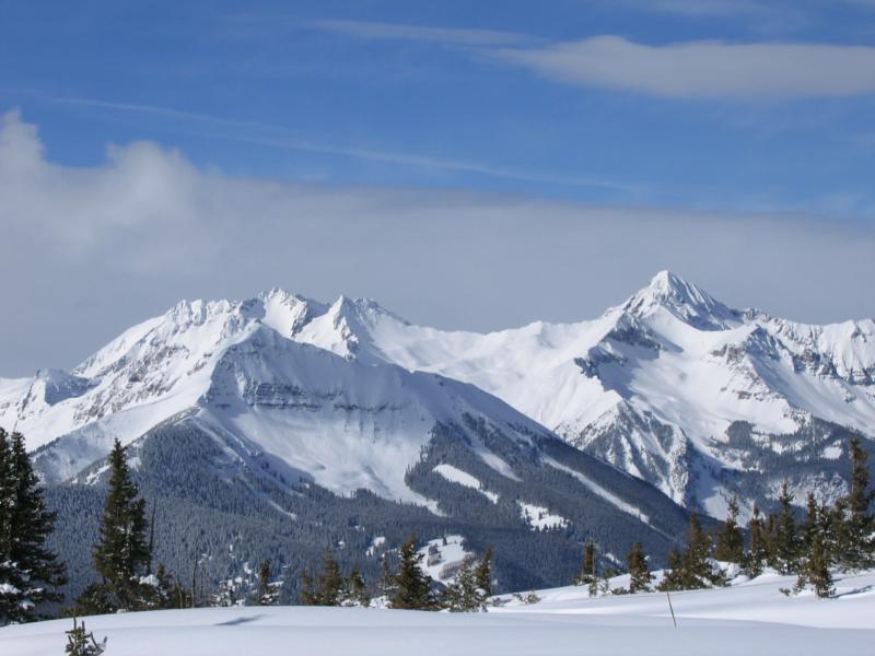 Piste della Coppa del Mondo di Sci a Vail Beaver Creek