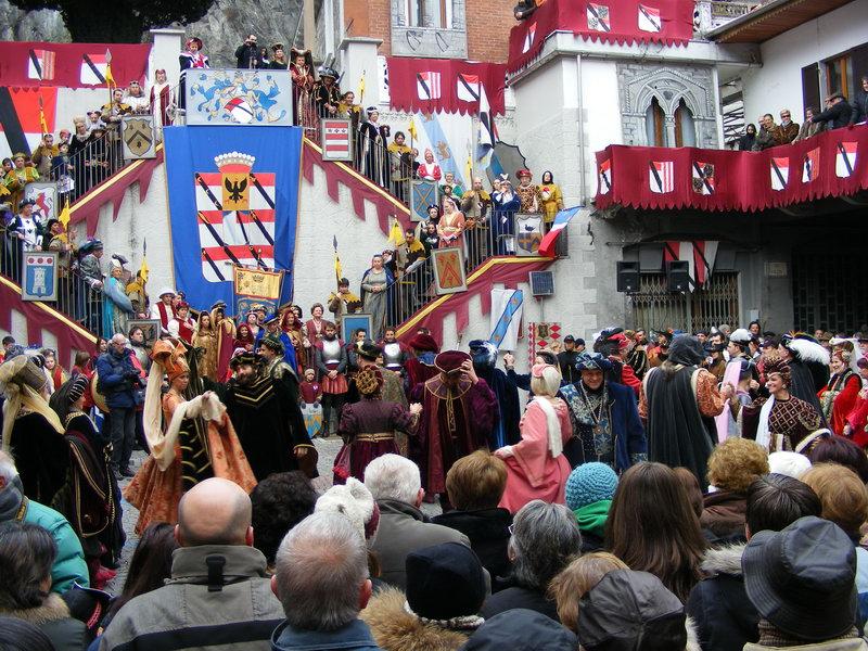 Programma Carnevale storico di Verres 2015
