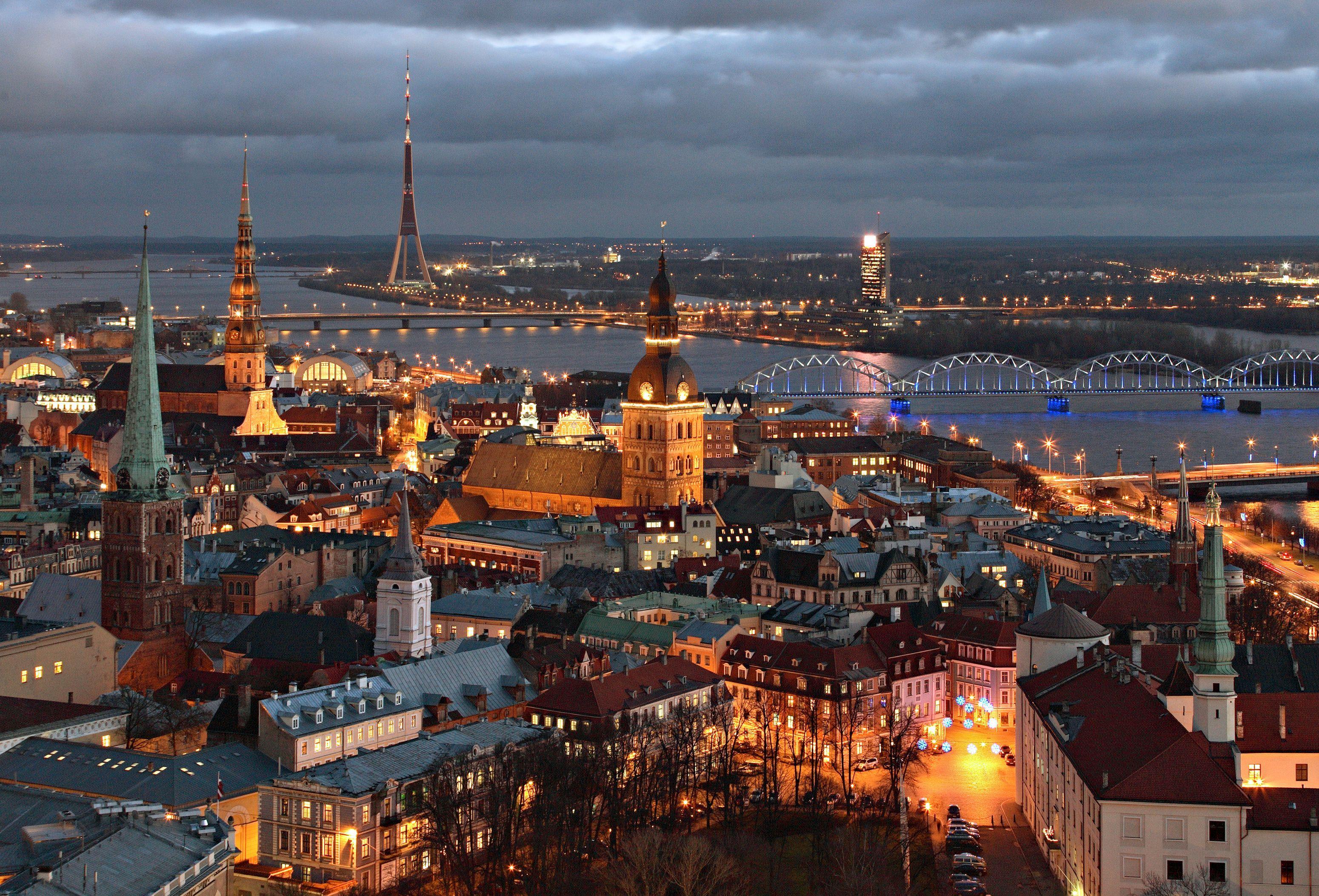 Voli low cost Riga per ponte romantico Epifania - Viaggiamo