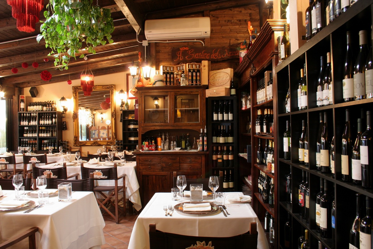 Migliori ristoranti romantici di roma viaggiamo for Arredamento ristoranti roma
