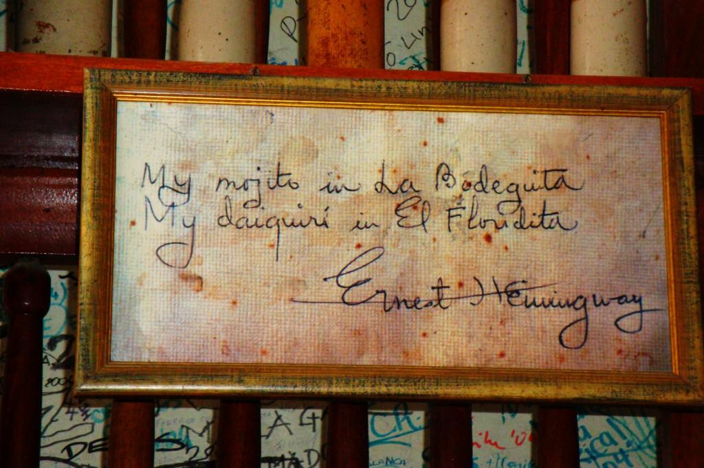 Sulle tracce di Hemingway a L'Avana