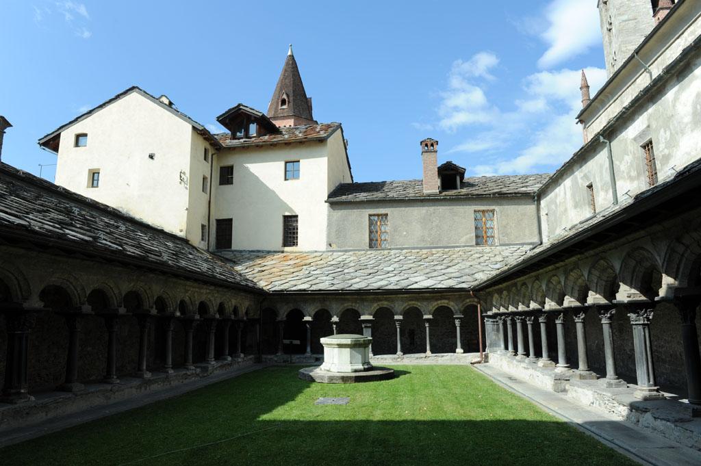 Visita alla Collegiata di Sant'Orso Aosta