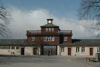 Visita al campo di concentramento di Buchenwald