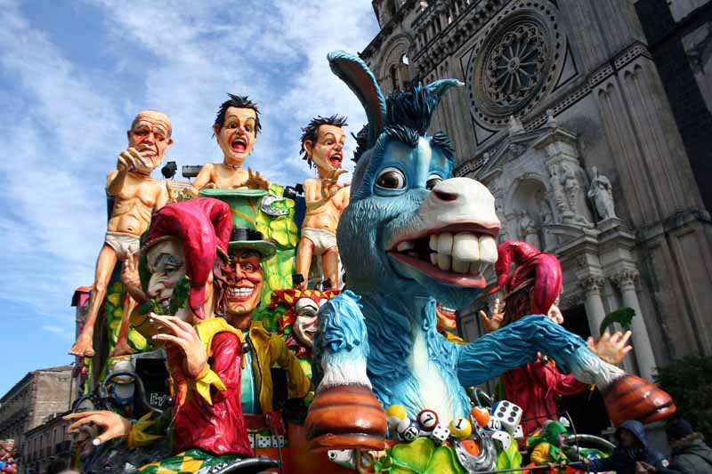 Le maschere più belle Carnevale di Acireale