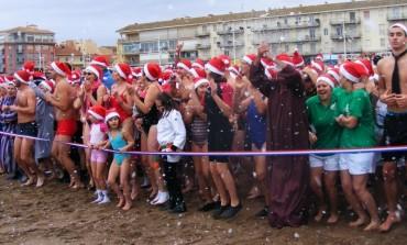 Che cos'è la tradizione del bagno di Natale a Valras-Plage