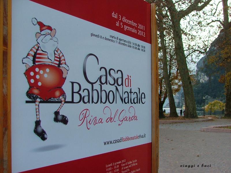 Programma Casa di Babbo Natale a Riva del Garda
