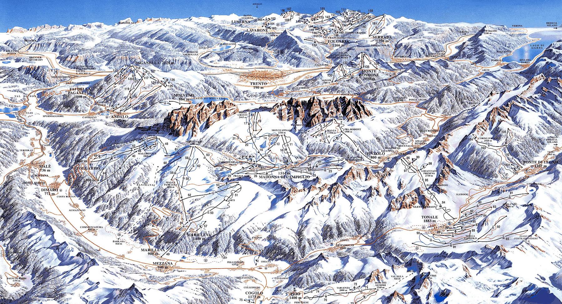 Prezzo Adamello Ski skipass giornaliero 2015
