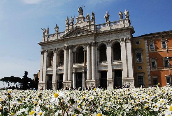 Roma antica: la Basilica di San Giovanni in Laterano