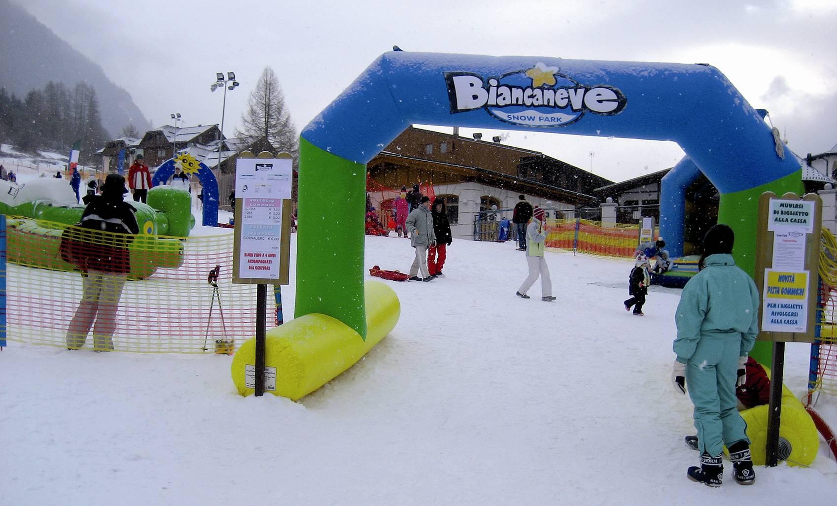 Orari e prezzi Biancaneve Snow Park a Cogolo di Peio