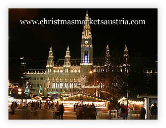 come arrivare Mercatino invernale nella piazza della ruota panoramica Vienna