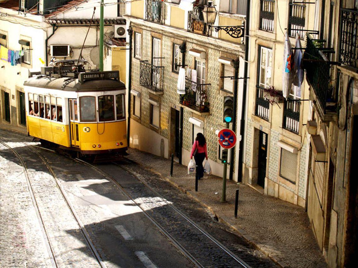 Itinerario tram 28 di Lisbona