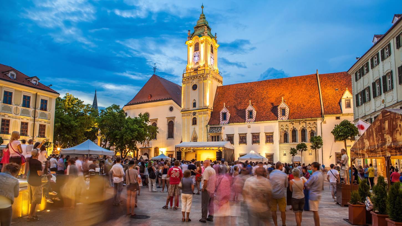 Itinerario romantico San Valentino a Bratislava