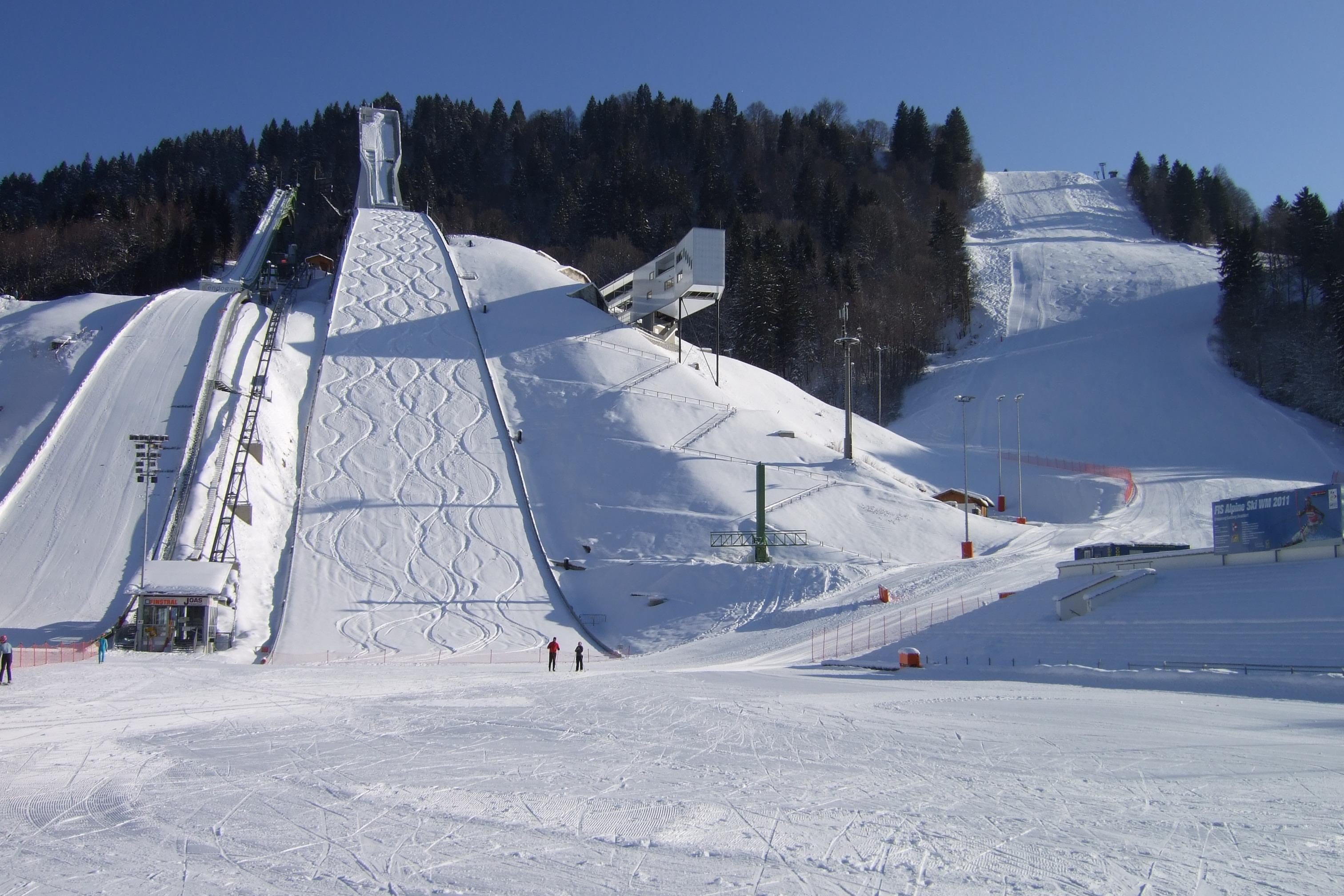 Garmisch Partenkirchen   Grosse Olympiaschanze